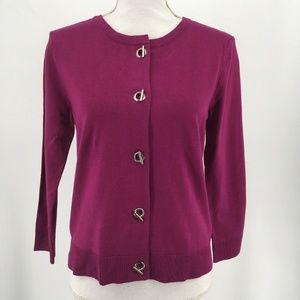 New Philosophy Womens Sweater Cardigan Long Sleeve